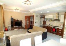 Большая квартира с 2 спальнями в аренду, комплекс на берегу моря, центр Аланьи - 8