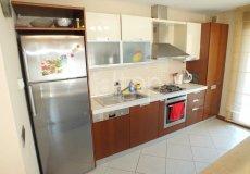 Большая квартира с 2 спальнями в аренду, комплекс на берегу моря, центр Аланьи - 9