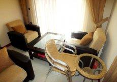 Большая квартира с 2 спальнями в аренду, комплекс на берегу моря, центр Аланьи - 11