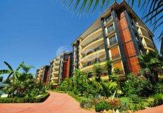 Большая квартира с 2 спальнями в аренду, комплекс на берегу моря, центр Аланьи - 23