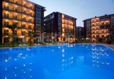 Большая квартира с 2 спальнями в аренду, комплекс на берегу моря, центр Аланьи - 25