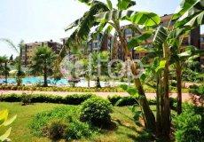 Большая квартира с 2 спальнями в аренду, комплекс на берегу моря, центр Аланьи - 30