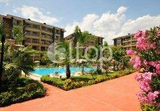 Большая квартира с 2 спальнями в аренду, комплекс на берегу моря, центр Аланьи - 31