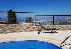 Уютная вилла в Алании с красивым видом на море и горы - 7