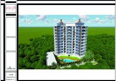 Продажа земли 2084 м2 м2, до моря 1500 м в районе Махмутлар, Аланья, Турция № 1863 – фото 5