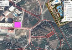 Продажа земли 2084 м2 м2, до моря 1500 м в районе Махмутлар, Аланья, Турция № 1863 – фото 2
