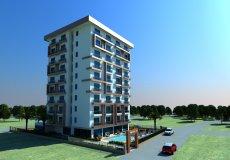 Новый проект в Алании, Махмутлар, квартиры 1+1 в рассрочку - 1