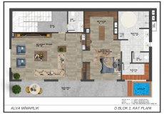 Новый проект комплекса вилл в Бекташ, Алания - 15