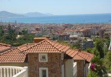 Вилла с видом на море и крепость Алании по доступной цене - 20