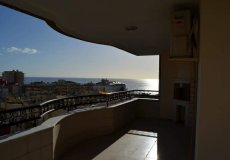 Просторная квартира в Алании с видом на море - 13
