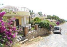 Недорогая вилла с садом и видом на море в Алании - 5