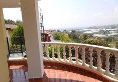 Недорогая вилла с садом и видом на море в Алании - 12