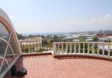 Недорогая вилла с садом и видом на море в Алании - 15
