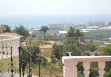 Недорогая вилла с садом и видом на море в Алании - 14