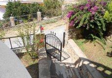 Недорогая вилла с садом и видом на море в Алании - 16