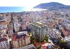 Жилой комплекс 1+1, 2+1, до моря 300 м в центральном районе, Аланья, Турция № 3396 – фото 1