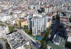 Жилой комплекс 1+1, 2+1, до моря 300 м в центральном районе, Аланья, Турция № 3396 – фото 2