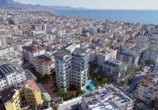 Жилой комплекс 1+1, 2+1, до моря 300 м в центральном районе, Аланья, Турция № 3396 – фото 3