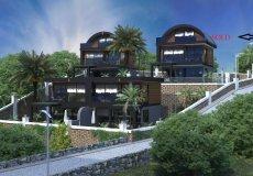 Новый проект вилл в Бекташ, Алания с рассрочкой платежа - 2