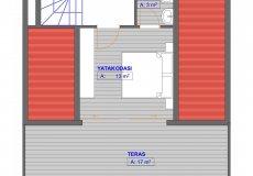 Новый проект вилл в Бекташ, Алания с рассрочкой платежа - 9