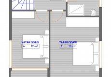 Новый проект вилл в Бекташ, Алания с рассрочкой платежа - 8