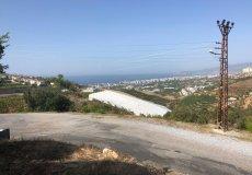 Земельный участок в Алании с видом на море, Каргыджак - 8