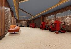 Жилой комплекс 1+1, 2+1, 3+1, 4+1, до моря 150 м в районе Авсаллар, Аланья, Турция № 4300 – фото 14