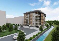 Продажа квартиры 1+1, 46 м2, до моря 600 м в центральном районе, Аланья, Турция № 4413 – фото 3