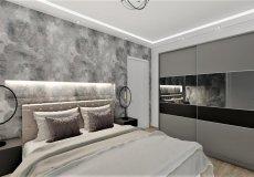 Продажа квартиры 1+1, 46 м2, до моря 600 м в центральном районе, Аланья, Турция № 4413 – фото 9