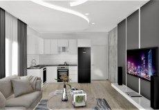 Продажа квартиры 1+1, 46 м2, до моря 600 м в центральном районе, Аланья, Турция № 4413 – фото 8
