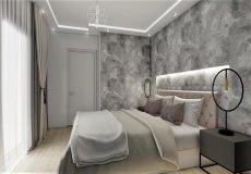 Продажа квартиры 1+1, 46 м2, до моря 600 м в центральном районе, Аланья, Турция № 4413 – фото 10
