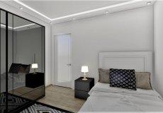 Продажа квартиры 1+1, 46 м2, до моря 600 м в центральном районе, Аланья, Турция № 4413 – фото 11