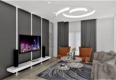 Продажа квартиры 1+1, 46 м2, до моря 600 м в центральном районе, Аланья, Турция № 4413 – фото 7