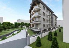 Продажа квартиры 1+1, 46 м2, до моря 600 м в центральном районе, Аланья, Турция № 4413 – фото 4