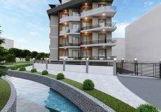 Продажа квартиры 1+1, 46 м2, до моря 600 м в центральном районе, Аланья, Турция № 4413 – фото 5