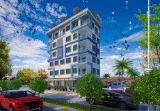 Продажа квартиры 1+1, 59 м2, до моря 350 м в районе Махмутлар, Аланья, Турция № 4576 – фото 3