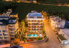 Аренда квартиры 1+1, 60м2 м2, до моря 400 м в центральном районе, Аланья, Турция № 4623 – фото 4