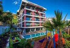 Аренда квартиры 1+1, 60м2 м2, до моря 400 м в центральном районе, Аланья, Турция № 4623 – фото 1