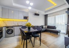 Аренда квартиры 1+1, 60м2 м2, до моря 400 м в центральном районе, Аланья, Турция № 4623 – фото 24