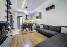 Аренда квартиры 1+1, 60м2 м2, до моря 400 м в центральном районе, Аланья, Турция № 4623 – фото 25