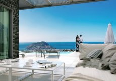 Продажа виллы 4+1, 5+1, 568 м2, до моря 3500 м в центральном районе, Аланья, Турция № 4754 – фото 5