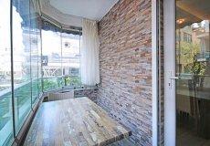 Аренда квартиры 2+1, 85м2 м2, до моря 250 м в центральном районе, Аланья, Турция № 4805 – фото 26