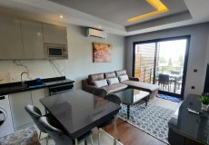 Аренда квартиры 1+1, 60м2 м2, до моря 450 м в центральном районе, Аланья, Турция № 4956 – фото 1
