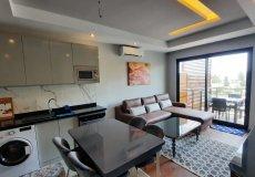 Аренда квартиры 1+1, 60м2 м2, до моря 450 м в центральном районе, Аланья, Турция № 4956 – фото 20