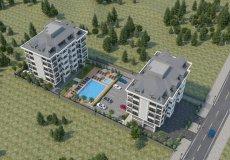 Жилой комплекс 1+1, 2+1, 3+1, до моря 200 м в районе Каргыджак, Аланья, Турция № 5161 – фото 6