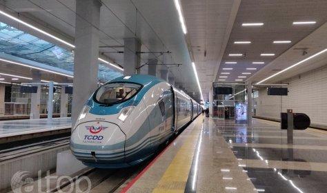 Скоростная железная дорога Анкара-Сивас начинает работу!